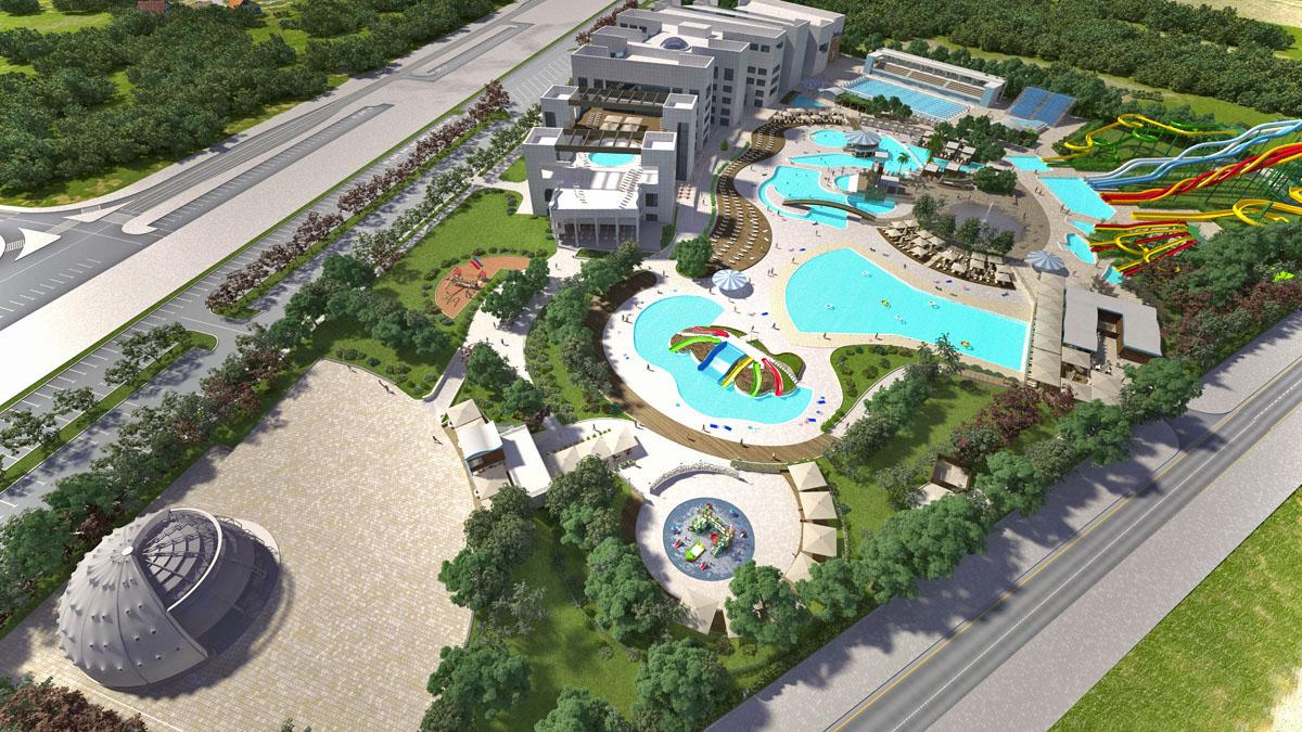 Revizija poslovnog plana za vodeni park Fantasyland